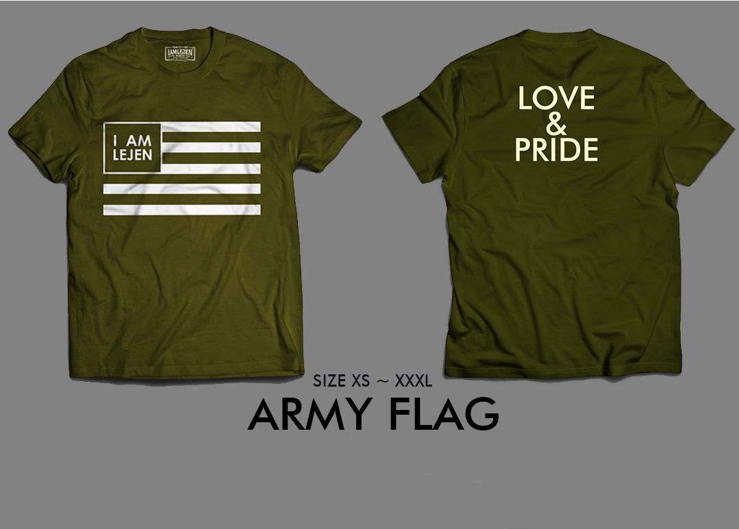 2018 ARMY FLAG T-SHIRT