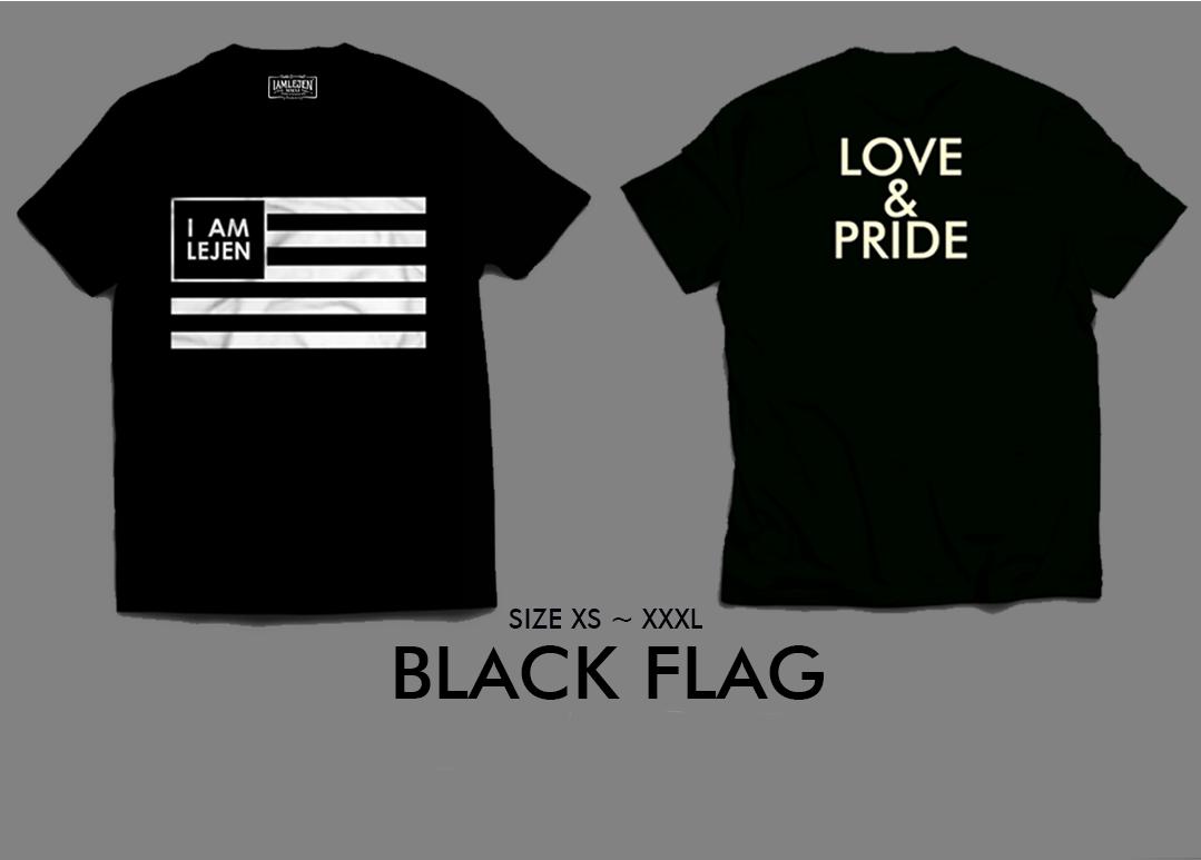 2018 BLACK FLAG T-SHIRT