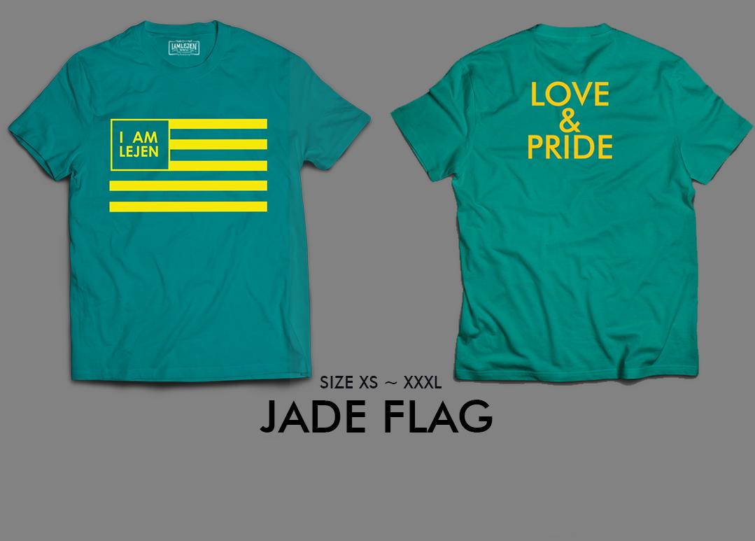 2018 JADE FLAG T-SHIRT