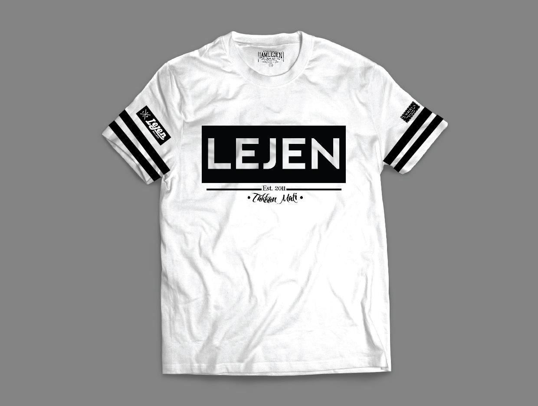 TSHIRT LEJEN 2016 (STRIPE WHITE)