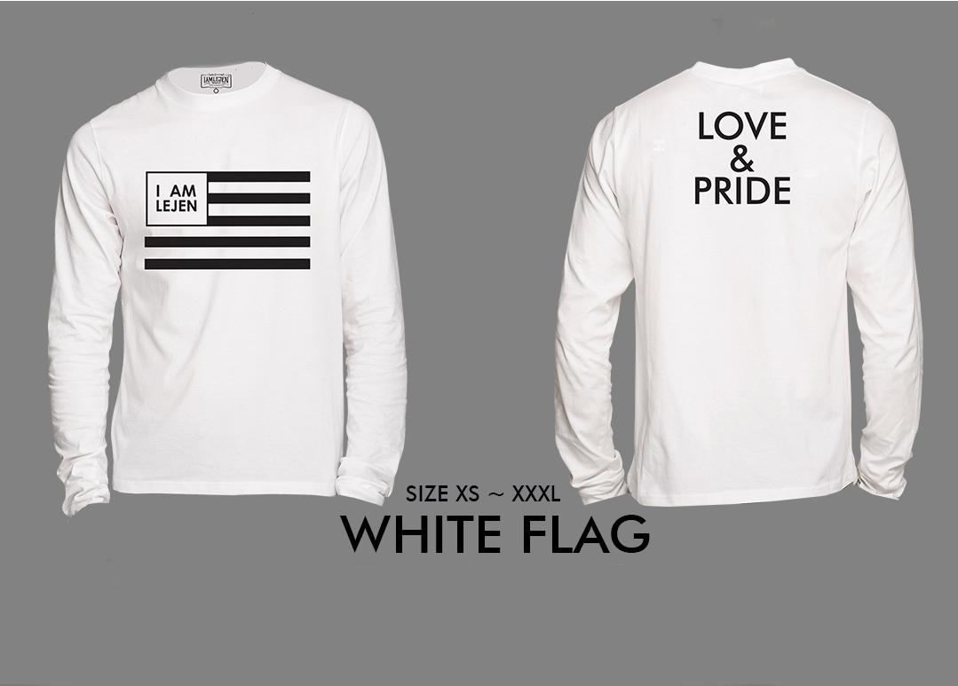 2018 WHITE FLAG LONG SLEEVE